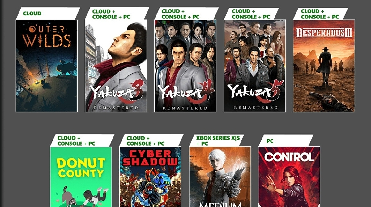 Yakuza Remastered Collection, The Medium and more coming to Xbox Game Pass in January - Eurogamer.net