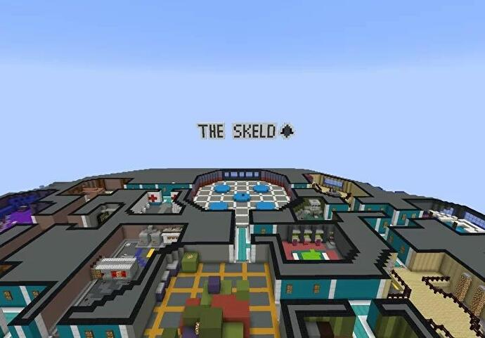 The_Skeld_map_from_Among_Us_in_Minecraft