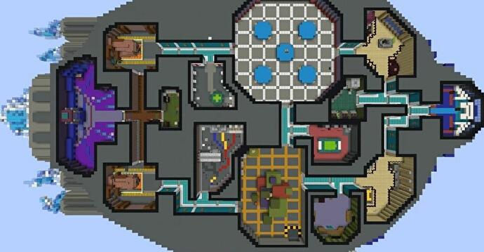 The_Skelf_map_from_Among_Us_recreated_in_Minecraft