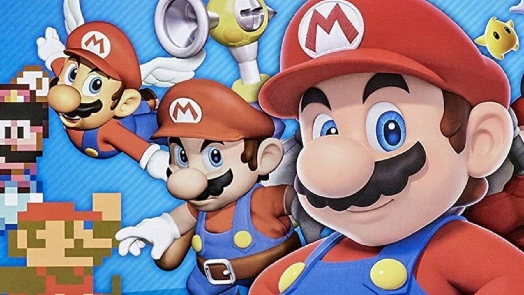 Is Super Mario 64 STILL the apotheosis of the movement in the history of video games?