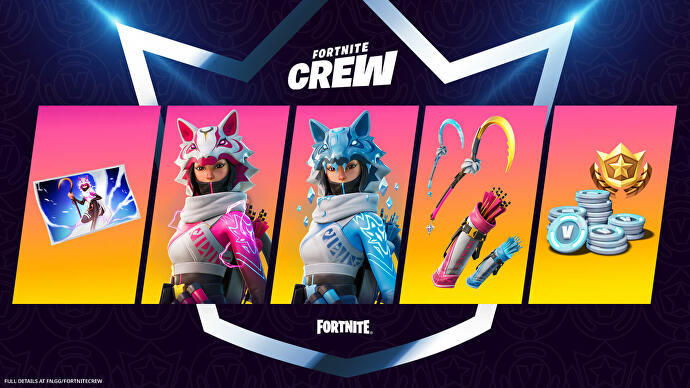 Fortnite's February £10 subscriber-only skin is a new take on a fan-favourite