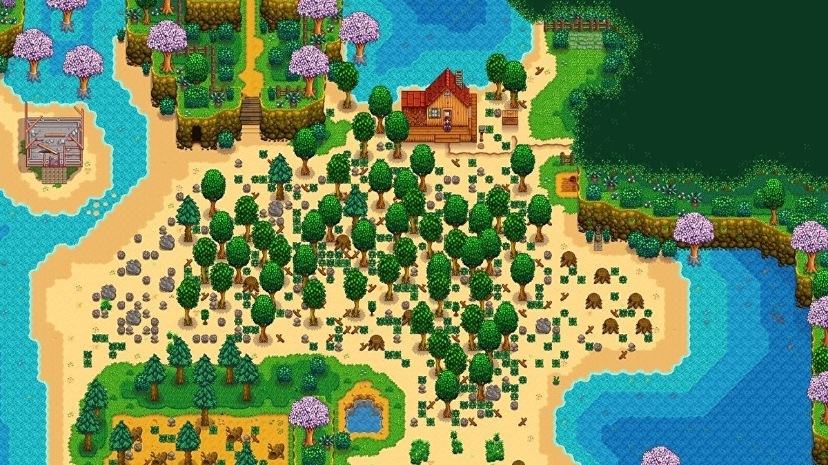 "Stardew Valley 1.5 hopefully arriving on consoles ""late this month or early next month"""