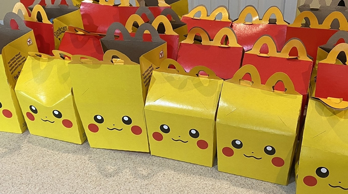 Not even McDonald's Pokémon Happy Meals are safe from scalpers 2