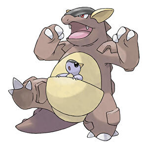 Pokemon_Kangaskhan