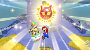 In Bowser's Fury, Mario's world and open worlds breathe new life into each other