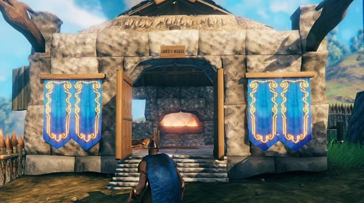 Valheim Building Guide How To Build A House Chimney Building And Unlock Stone Buildings Explained Eurogamer Net
