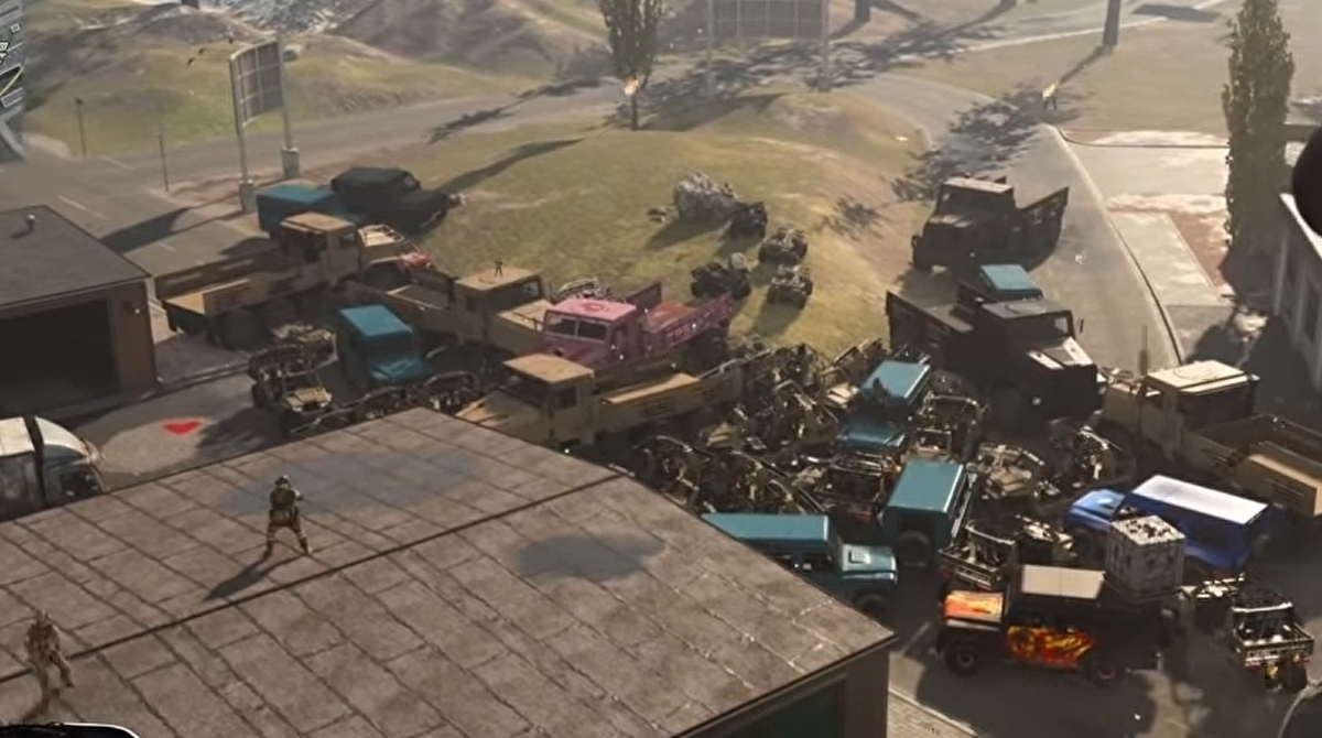Call of Duty: Warzone players create their own nuke out of vehicles - Eurogamer.net