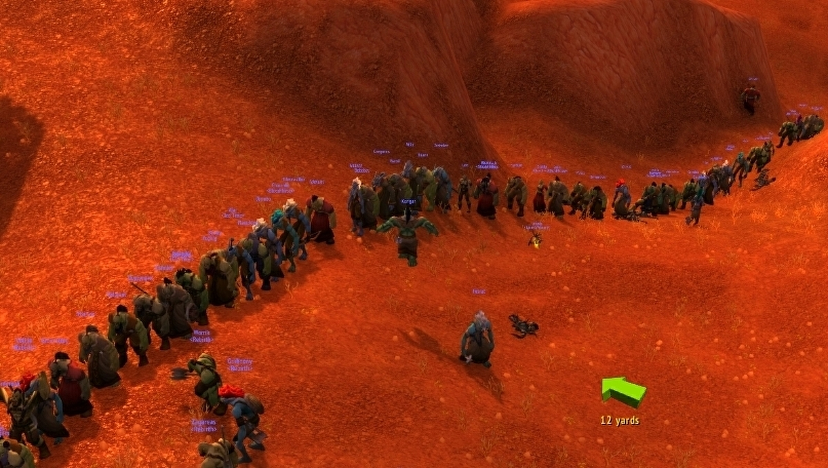 Thousands of World of Warcraft Classic players descended upon a single server to get a fresh levelling experience - and it was absolute chaos