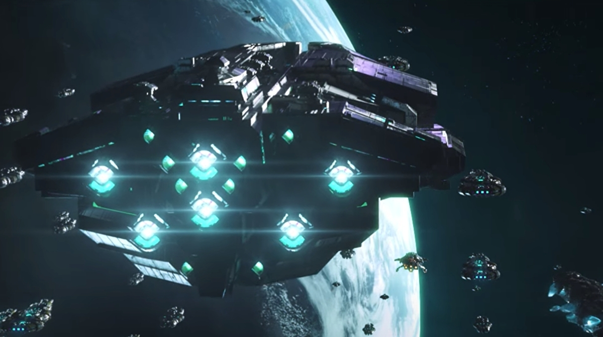 Stellaris' galaxy menacing Nemesis expansion gets April release date on PC thumbnail