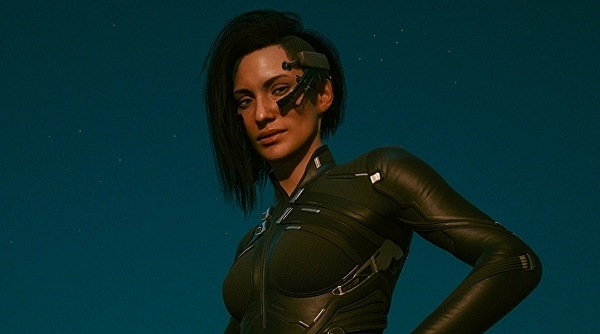 Cyberpunk 2077 modder restores early character placeholders
