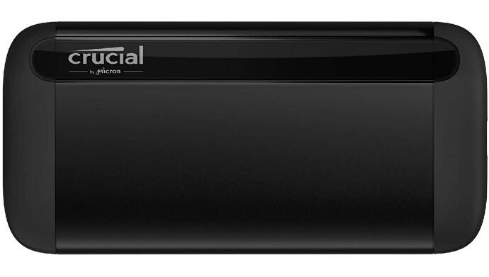 The Crucial X8 portable external SSD