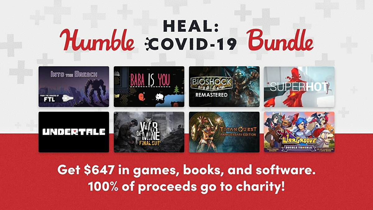 Humble launches the Heal Covid 19 Bundle to raise funds for charities tackling the pandemic