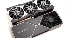 The closest AMD analogue to the 3080 Ti is the RX 6900 XT, which has a $200 lower RRP.