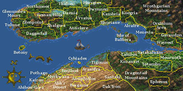 A_labelled_map_of_Iliac_Bay_and_Isle_of_Balfiera_from_Daggerfall