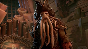 Sea of Thieves' kraken finally gets its face in new Pirates of the Caribbean crossover trailer