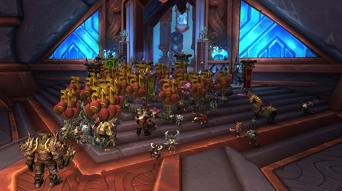 World of Warcraft players stage sit-in protest following Blizzard allegations