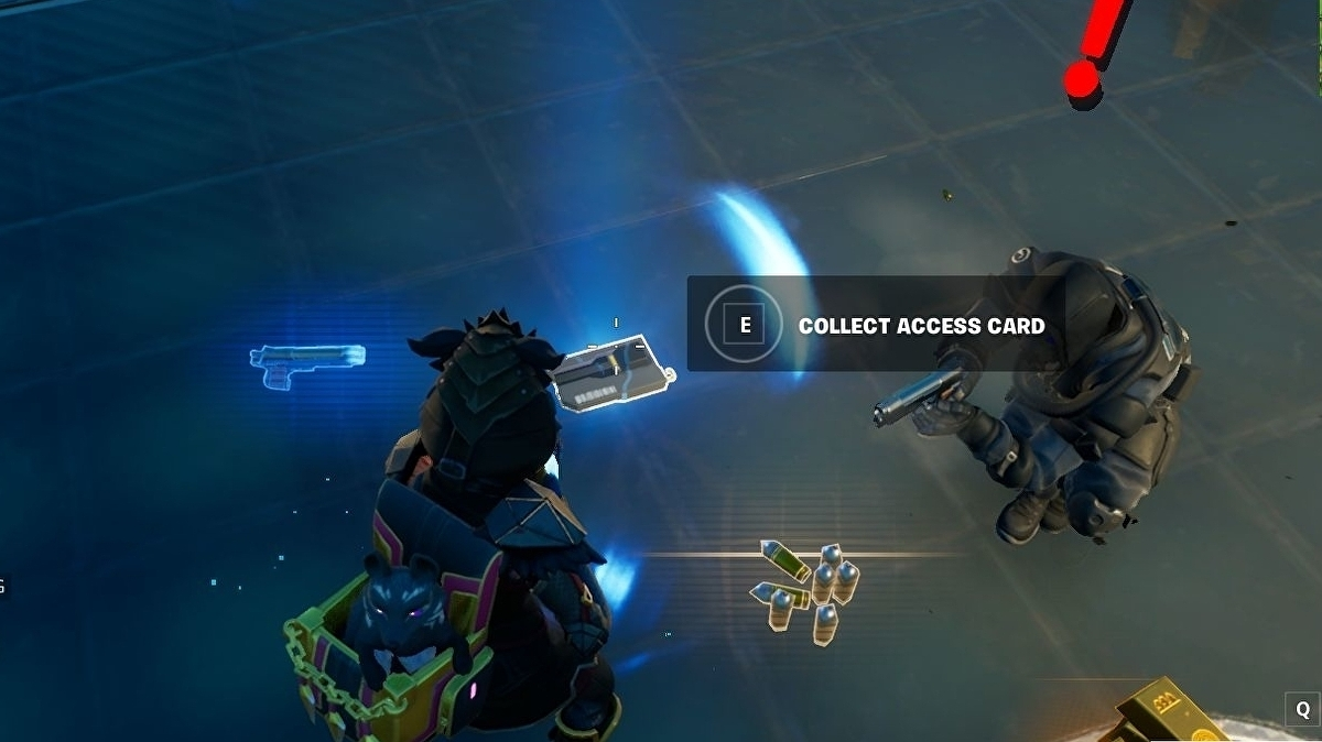 Fortnite - IO access card location: How to collect an access card from an IO Guard