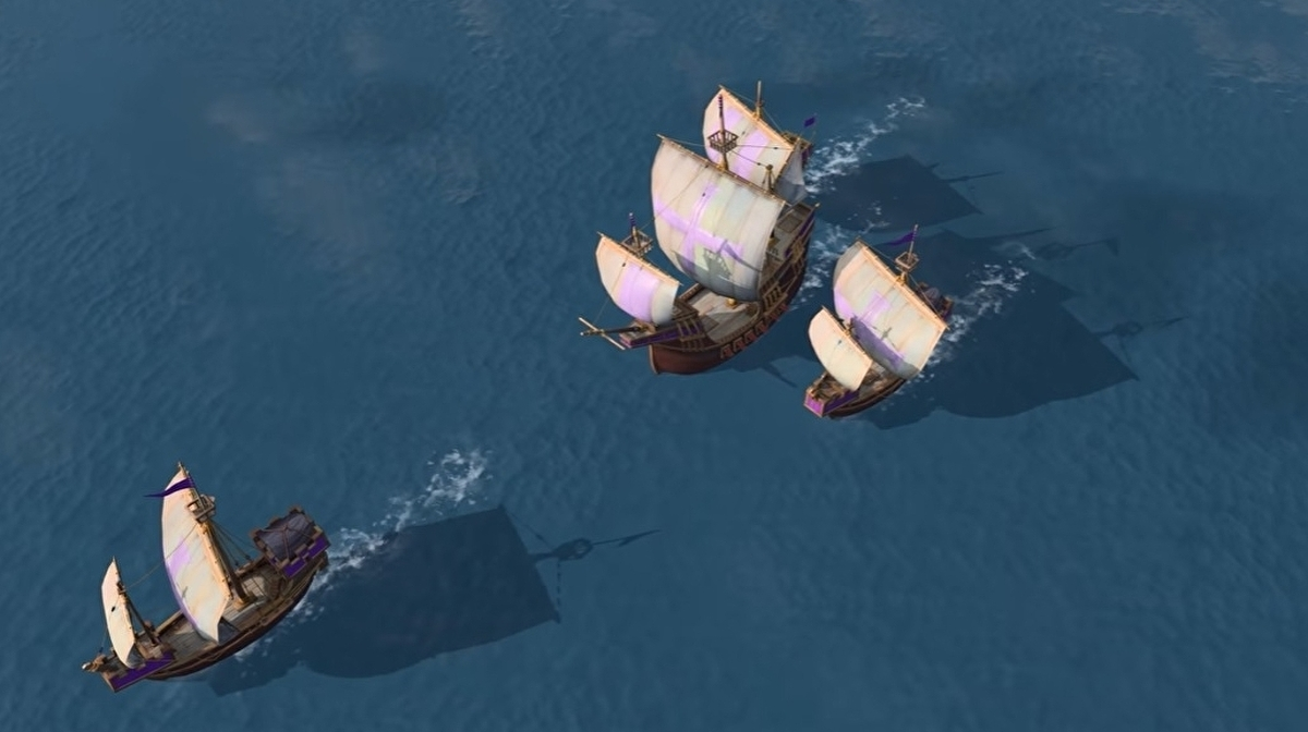 Age of Empires fans are having their say on Age of Empires 4's ships and water