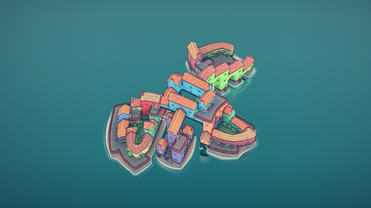 Townscaper review - a city-builder without rules