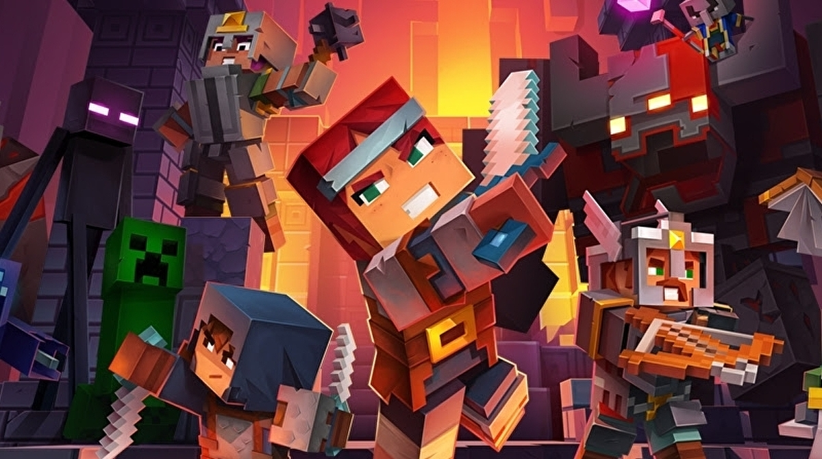 Minecraft Dungeons is getting a new seasonal model and battle pass