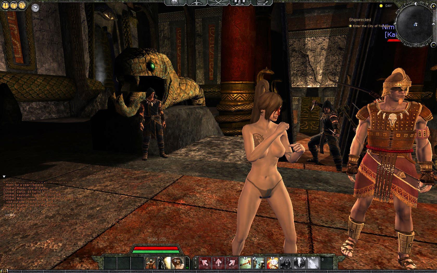 Age of conan unchained nude mod nude pictures