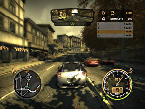 need for speed most wanted 2005 car list