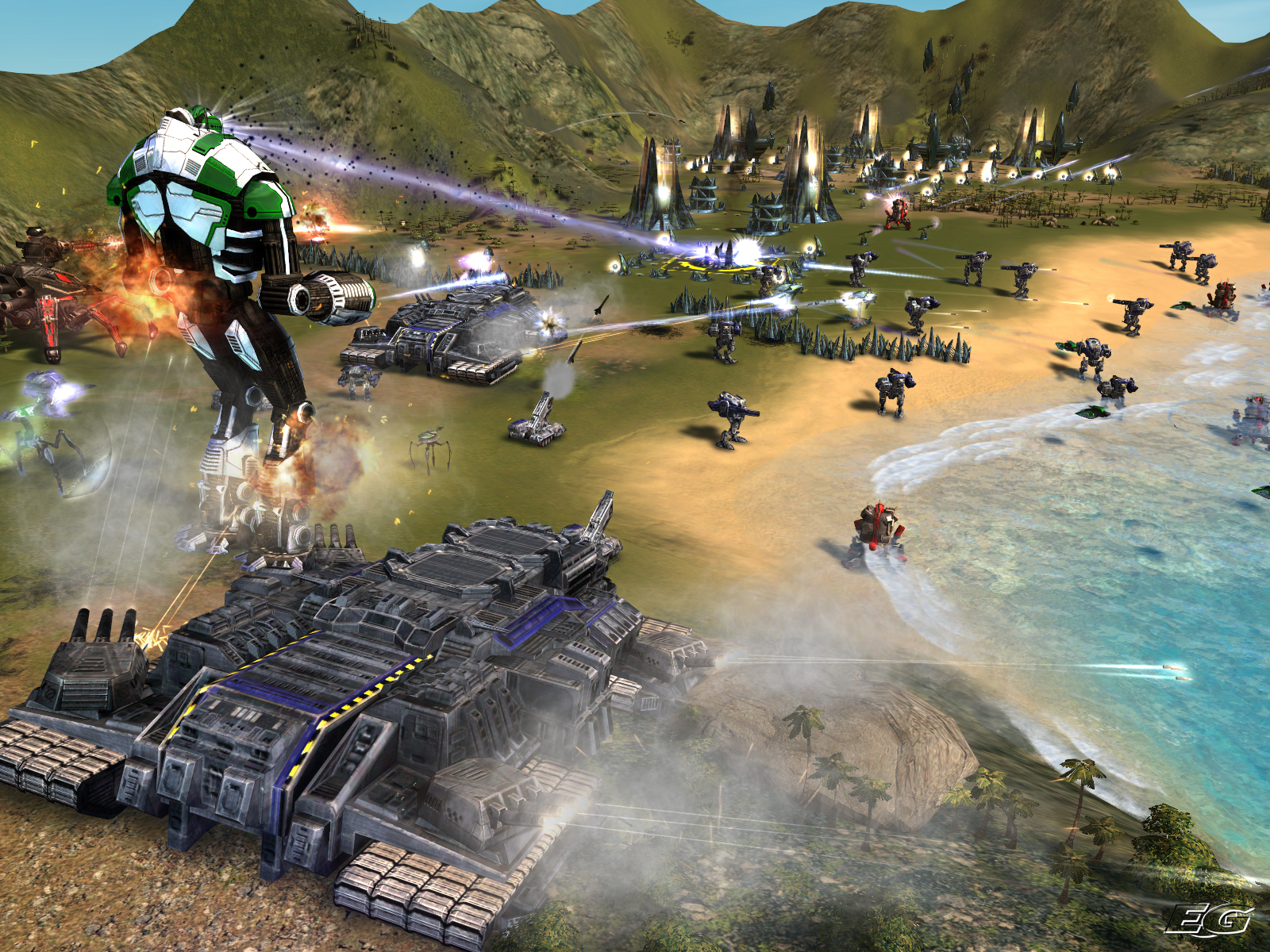 Supreme Commander: Forged Alliance • Eurogamer.cz