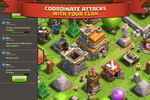 Clash Of Clans Cheats And Tips