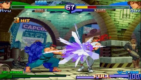 The Sony PSP Also Received Some Street Fighter Love In Form Of This Near Perfect Arcade Translation Complete With Sweet Looking 2D Visuals