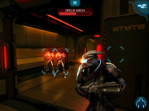Mass Effect Infiltrator Android Games Room
