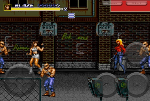 Streets of Rage 3 iPhone Review