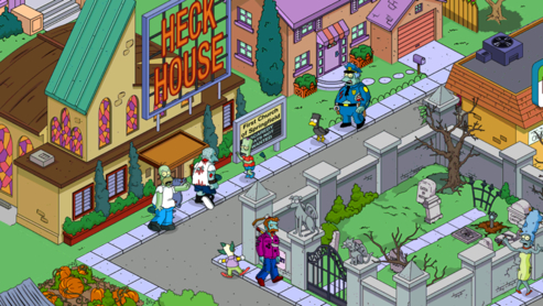 The Simpsons: Tapped Out Update Adds Treehouse of Horror XXIII Content