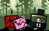 Super Meat Boy iOS Bathed In Gore