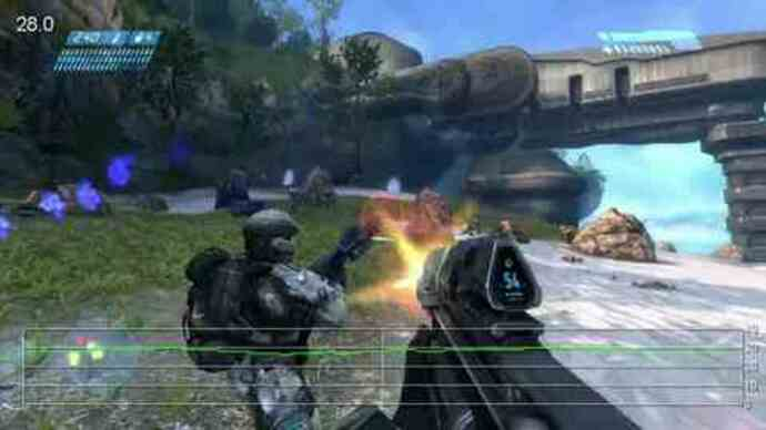 Halo Anniversary E3 Demo Performance Analysis Video