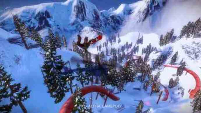 SSX pre-alpha gameplay footage
