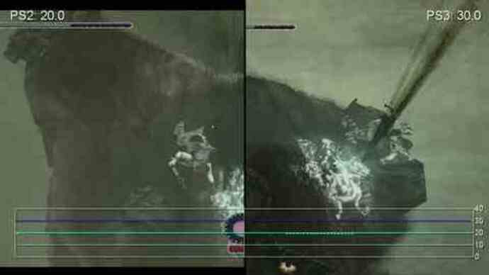 Shadow of the Colossus PS2/PS3 Gameplay Performance Video
