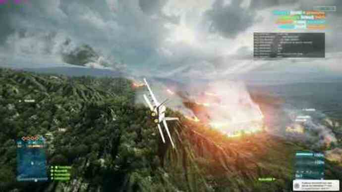 Battlefield 3 beta jet fighter footage
