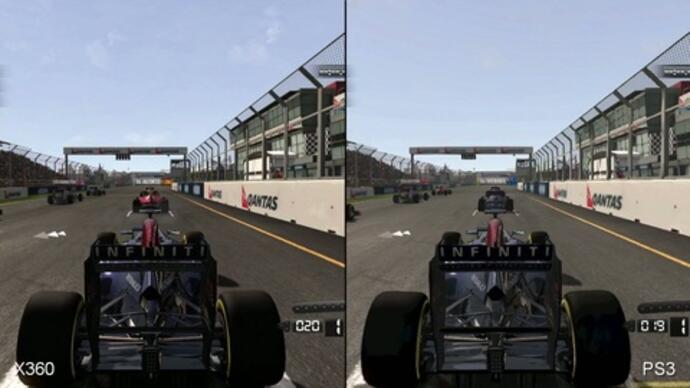 F1 2011 Xbox 360/PS3 Face-Off Video