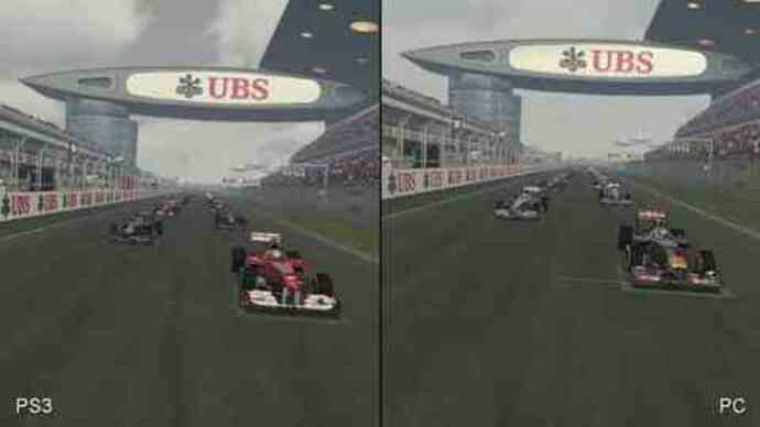 F1 2011 PS3/PC Face-Off Video