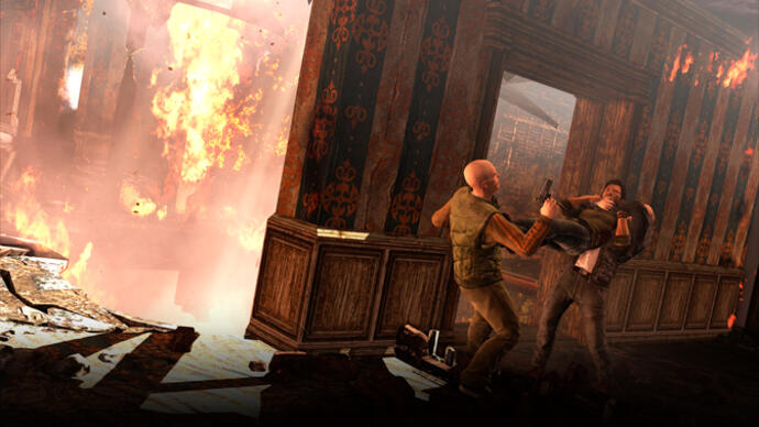 Uncharted 3 - Il Castello -gameplay