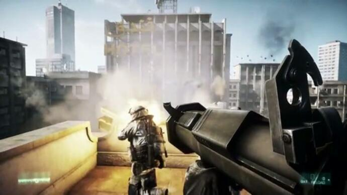Battlefield 3 destruction gameplay