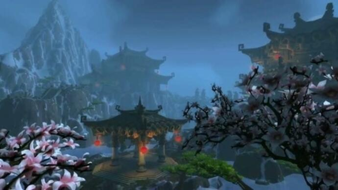 WOW: Mists of Pandaria locations trailer