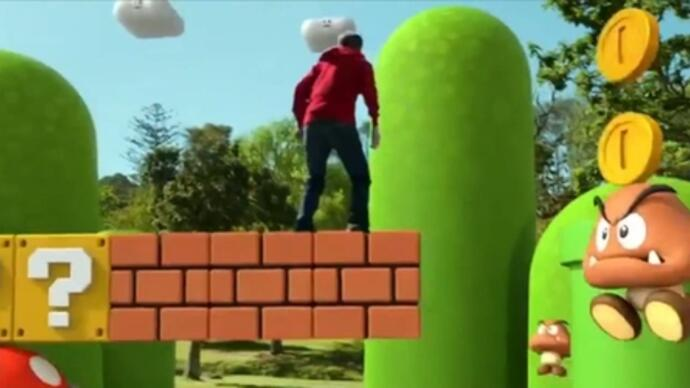 Super Mario 3D Land live action trailer