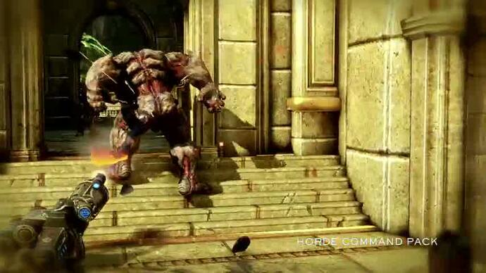 Gears of War 3 Horde Command DLC trailer