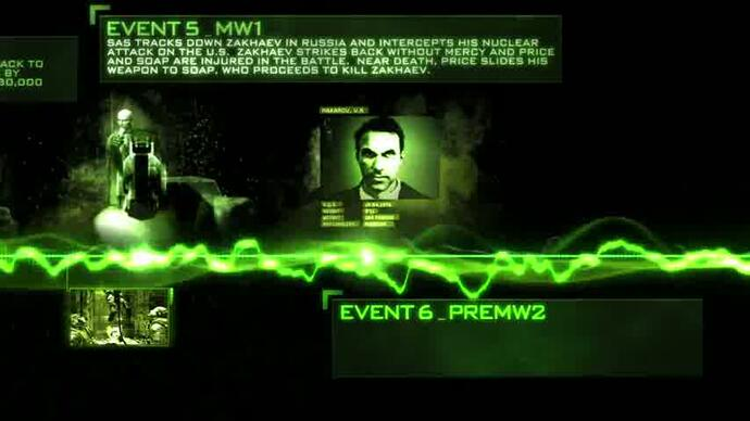 Call Of Duty Modern Warfare timeline trailer