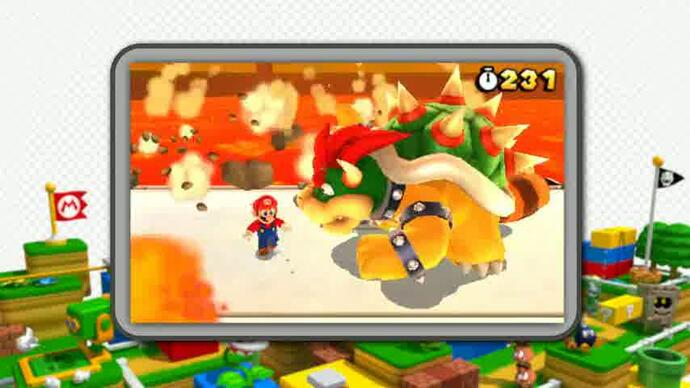 Super Mario 3D Land launch trailer