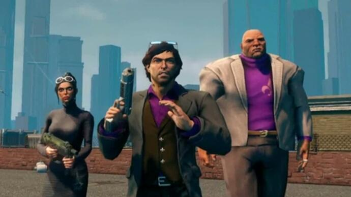 Trailer lançamento Saints Row The Third