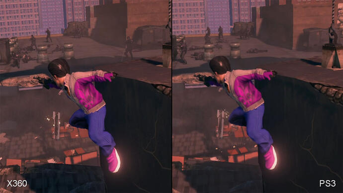 Saints Row: The Third 360/PS3 Face-OffVideo