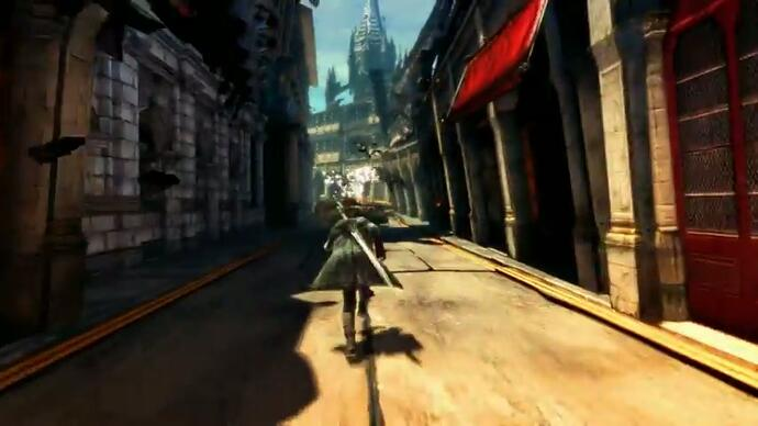Latest Devil May Cry gameplay escapes