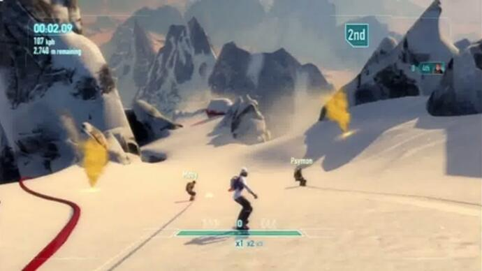 Primer vídeo con gameplay de SSX
